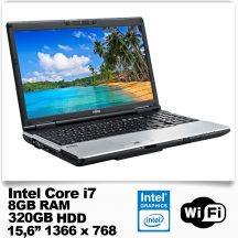 Fujitsu Lifebook E781/Intel Core i7 2640M /8GB RAM/320GB HDD/DVD író
