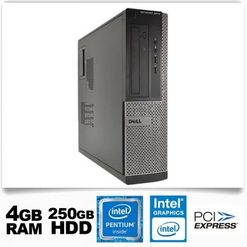 Dell Optiplex 3010D SFF/Pentium G2020/4GB RAM/250GB HDD/DVD nincs
