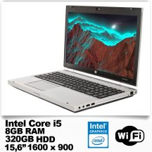 HP Elitebook 8560p/Core i5 2520M/8GB RAM/320GB HDD/DVD